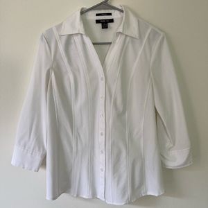 White button down size XS